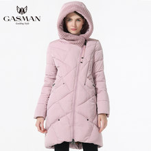 GASMAN 2019 Nieuwe Winter Collectie Merk Mode Dikke Vrouwen Winter Bio Down Jassen Hooded Vrouwen Parka Jassen Plus Size 5XL 6XL(China)