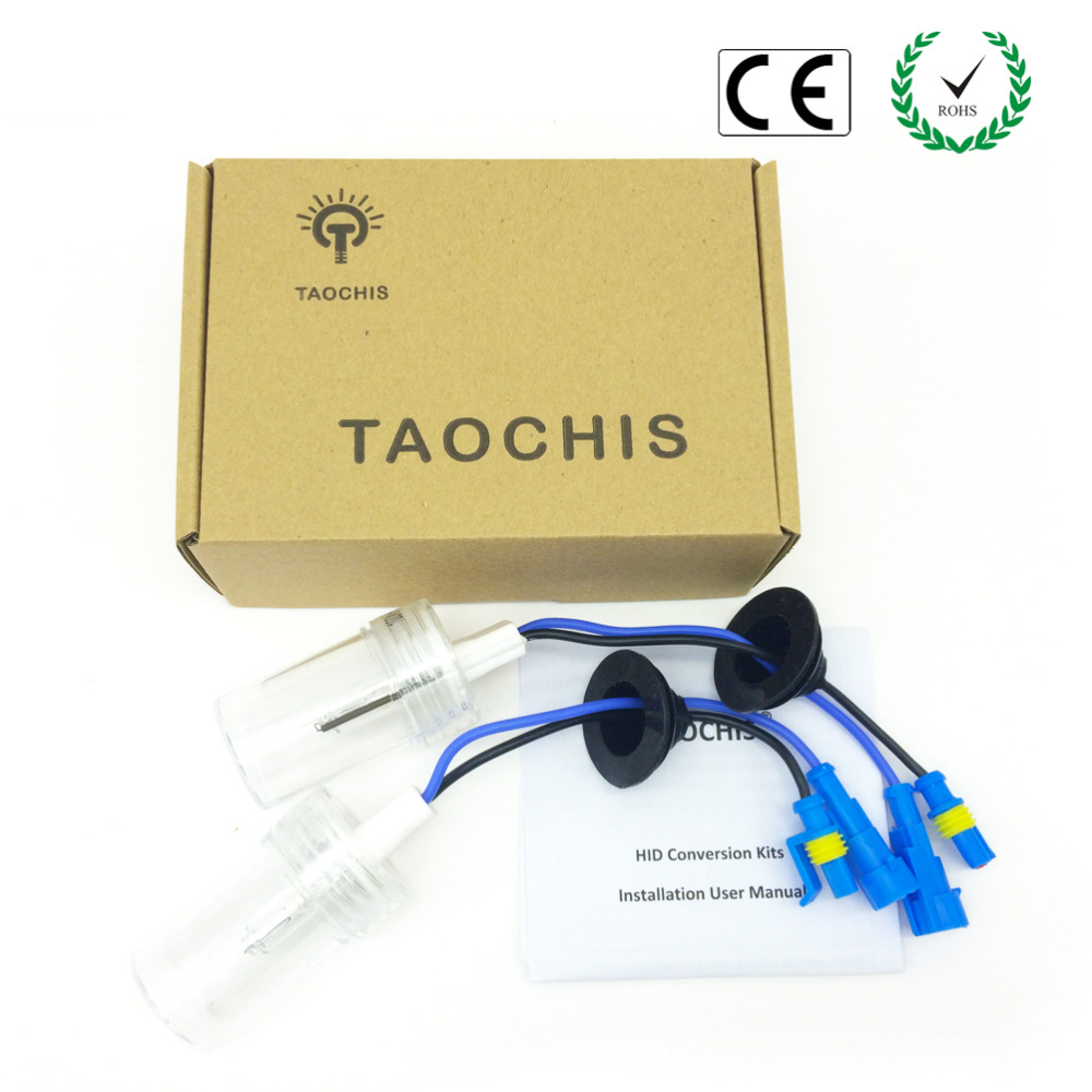 Taochis 12V 75W H3 Xenon HID Car Replacement lights lamps 4300k 5000k 6000k 8000k 10000k Auto Headlight Front Bulbs 75w xenon h1 hid replacement lamp bulb headlight lights lighting car source headlight for hunting lights 4300k 6000k 8000k