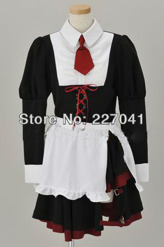 Umineko no Naku Koro ni Shannon Halloween Cosplay Custom Made Free Shipping A0187