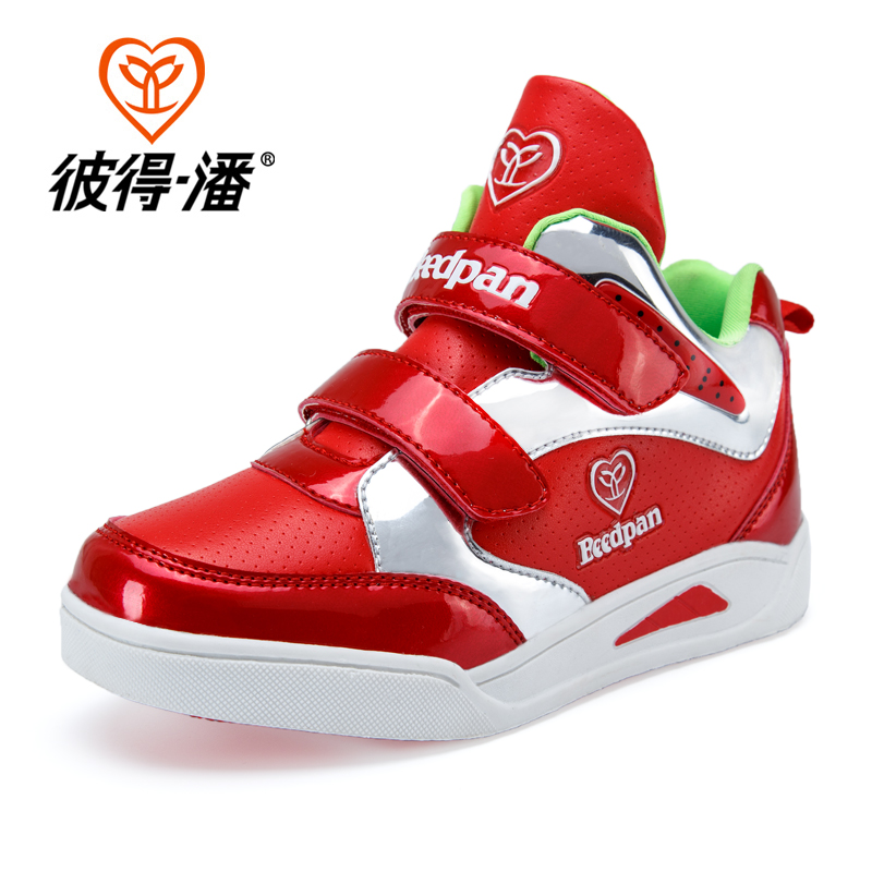 2016 New Brands Hot Kids Shoes girls Boys PU Leather High Children Sneakers girl Baby Shoes Sport Autumn Winter Children Shoes