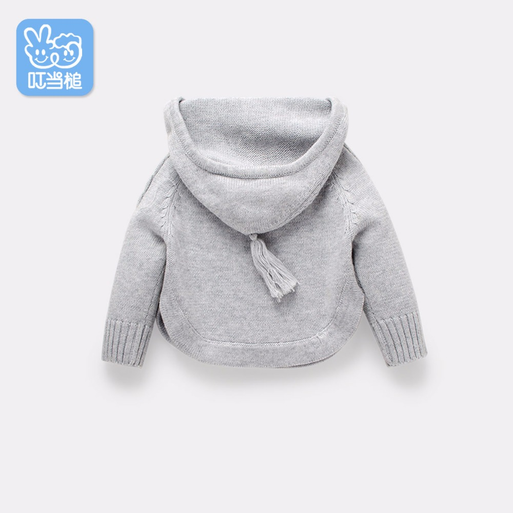 Jingle Mallet warm Clothing Hooded Cute fashion baby's Sweaters