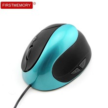 Wired Vertical Mouse Ergonomic Computer Mause 800/1200/1600DPI Right Hand Optical Gaming Mice With Mouse Pad Kit For PC Laptop