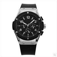 Winner Sport Design Mens Watches Top Brand Luxury Automatic Trailing Tourbillon Drop Shippin Montre Homme Clock