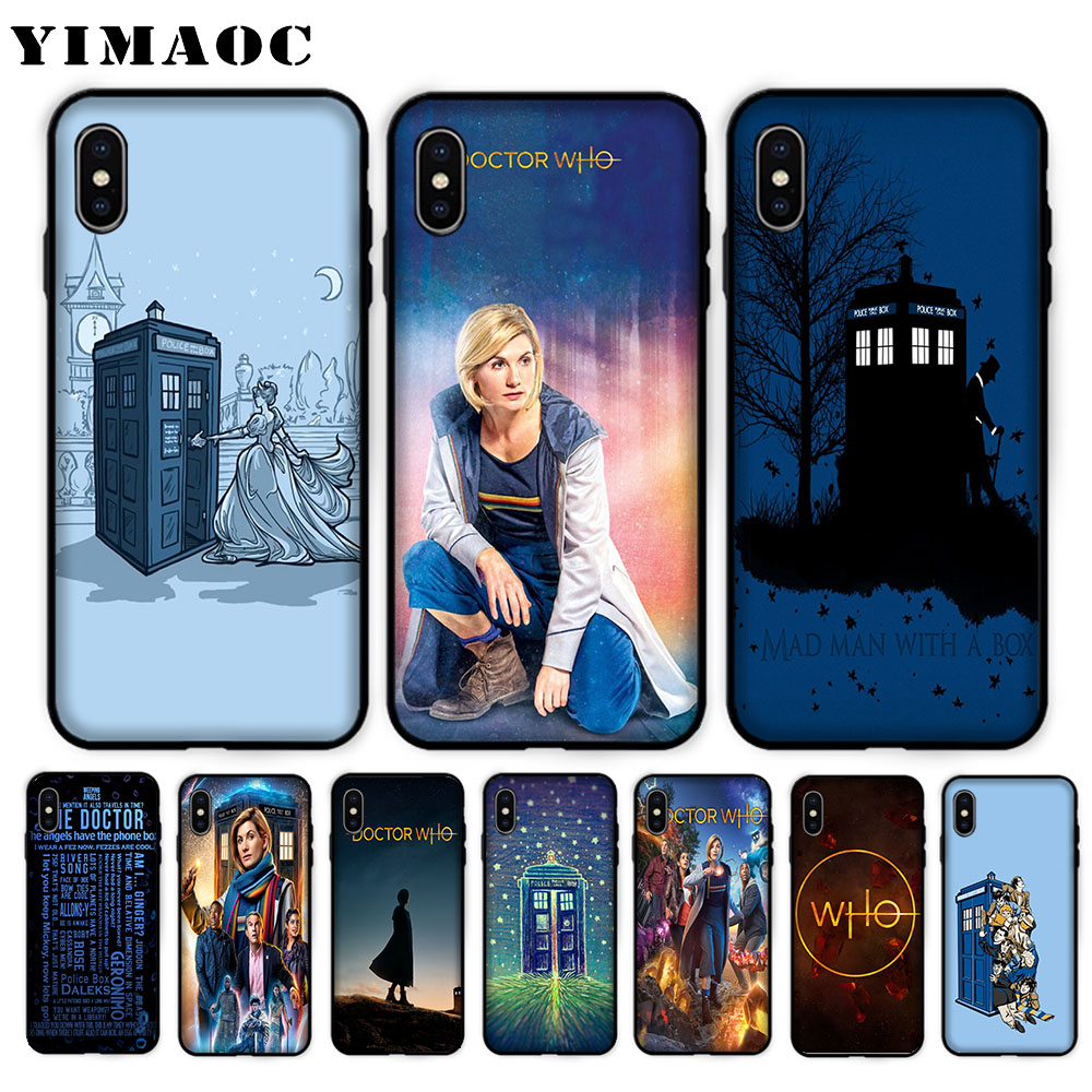 Fitted Cases Competent Yimaoc Doctor Who Soft Case For Iphone Xs Max Xr X 7 8 6 6s Plus 5 5s Se Be Shrewd In Money Matters