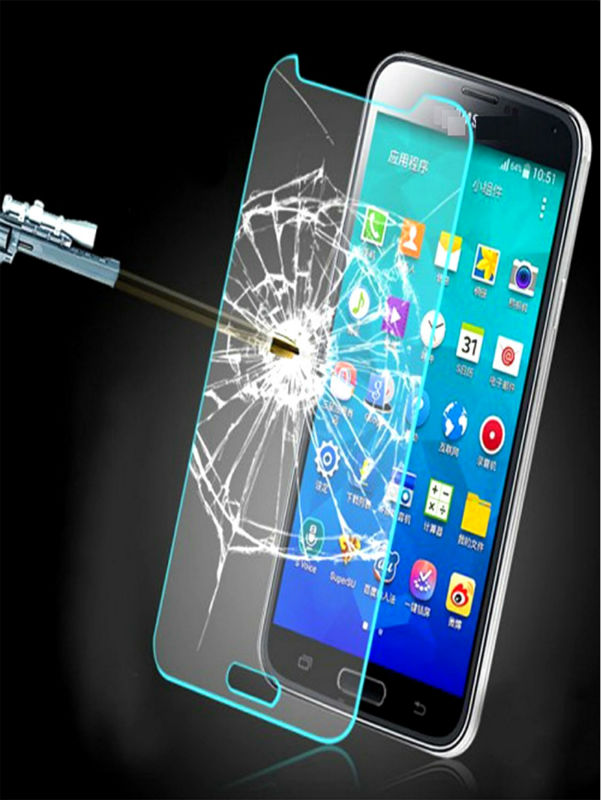 Free Shipping 2.5D Arc Edge 9H Hard 0.3mm Tempered Glass film for Samsung Galaxy S7 5.1 inches High Transparent Screen Protector