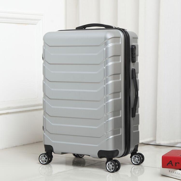 Trolley Hohe Kapazität Aluminium Rahmen Kreative Rollen Gepäck Spinner Koffer Räder Bunte Tragen auf Trolley Reisetasche - 6