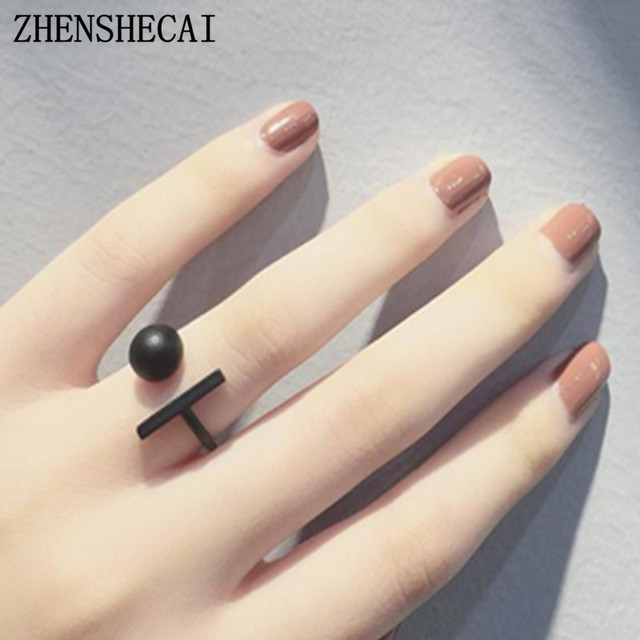 New hot sale Fashion Alloy Crystal Rings gold sliver black Infinity Ring for wom