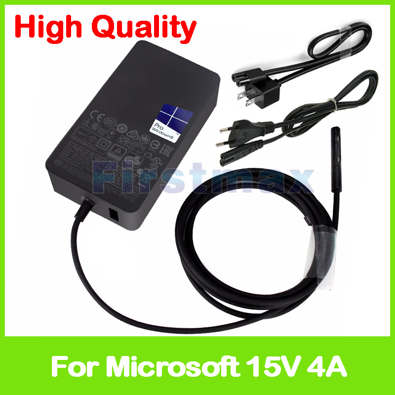 цена на 15V 4A 65W AC Adapter Power Supply tablet pc charger for Microsoft Surface Book Pro 4 1706 Brand New EU or US Plug