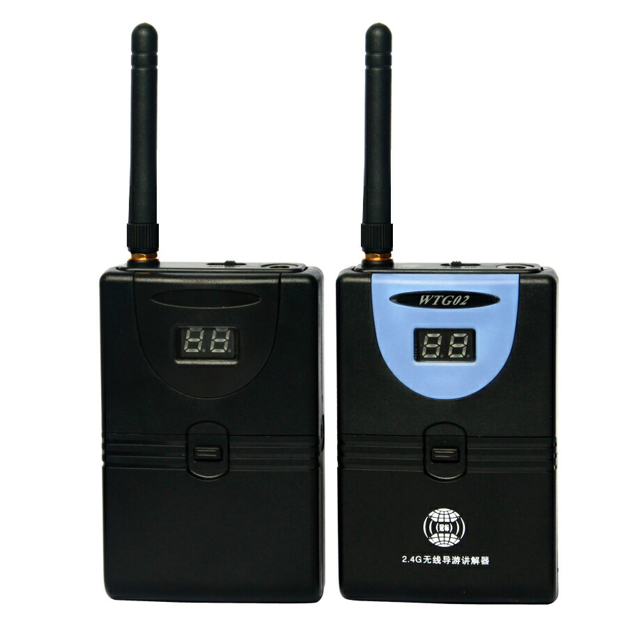 TP-Wireless 2,4 GHz Digital Wireless Tour Guide System - Tragbares Audio und Video - Foto 3