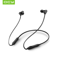 2018 QCY S6 Magnetic Bluetooth Headphones with Mic Wireless Earphones Sport IPX4 Headphone Neckband Headset For All Phones Bluetooth Earphones & Headphones