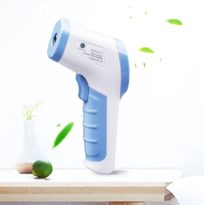 GL New Adult Baby Termômetro Pequeno Leve LCD Digital Termometro Digital de Não-contato de Medição de Temperatura Termômetro