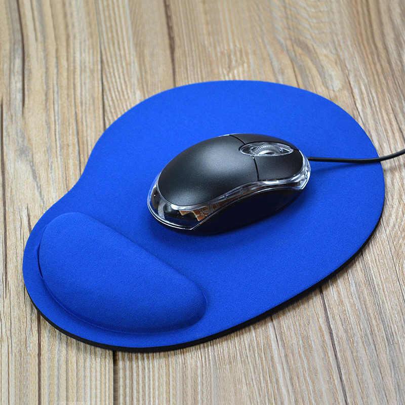Cor Do Mouse Pads Trackball PC Engrosse Mouse Pad com Descanso De Pulso Mousepad Gaming Ratos Tapetes PC Desktop Do Computador para o Escritório jogo