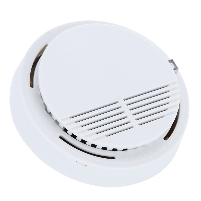 High Sensitivity Stable Photoelectric Smoke Alarm Fire Smoke Detector Sensor Home Security System yobangsecurity high sensitivity photoelectric smoke detector fire alarm sensor for home security independent smoke sensor white
