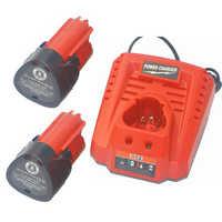2 paket 12 v 2000 mah M12 48-11-2410 Batterie + ladegerät für Milwaukee 48-11 -2420 48-11-2401 48-11-2402 REDLITHIUM akku-werkzeug