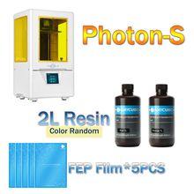 ANYCUBIC фотоны 3D-принтеры комплект новейшие УФ-принтер мини ЖК-дисплей 3d рабочего DIY принтер SLA обновлен смолы impresora 2019 3D-принтеры