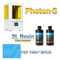 ANYCUBIC PhotonS 3D Printer Kit Newest UV Printer Mini LCD 3d Desktop DIY Printer SLA Upgraded Resin impresora 2019 3d Printer
