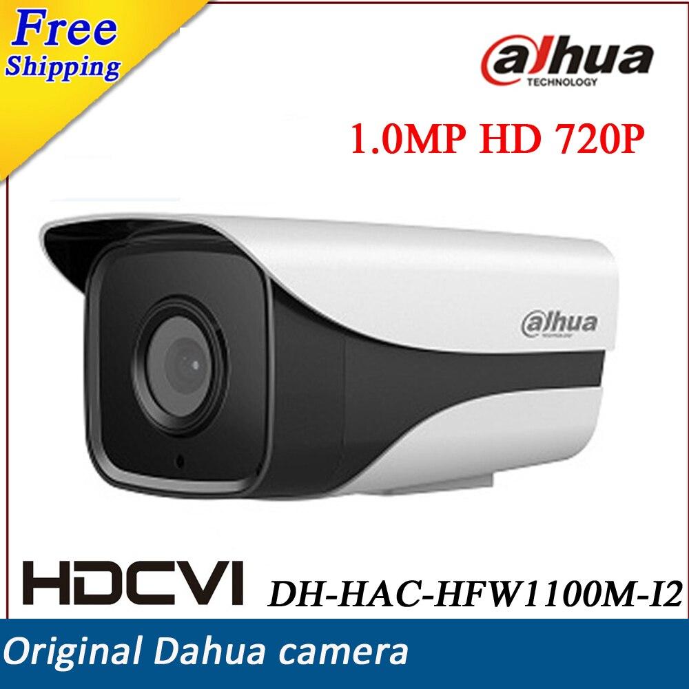 ФОТО HD 1.0 Megapixel 720P DH-HAC-HFW1100M-I2  Water-proof DAHUA HDCVI camera IR-Bullet Camera HAC-HFW1100M-I2