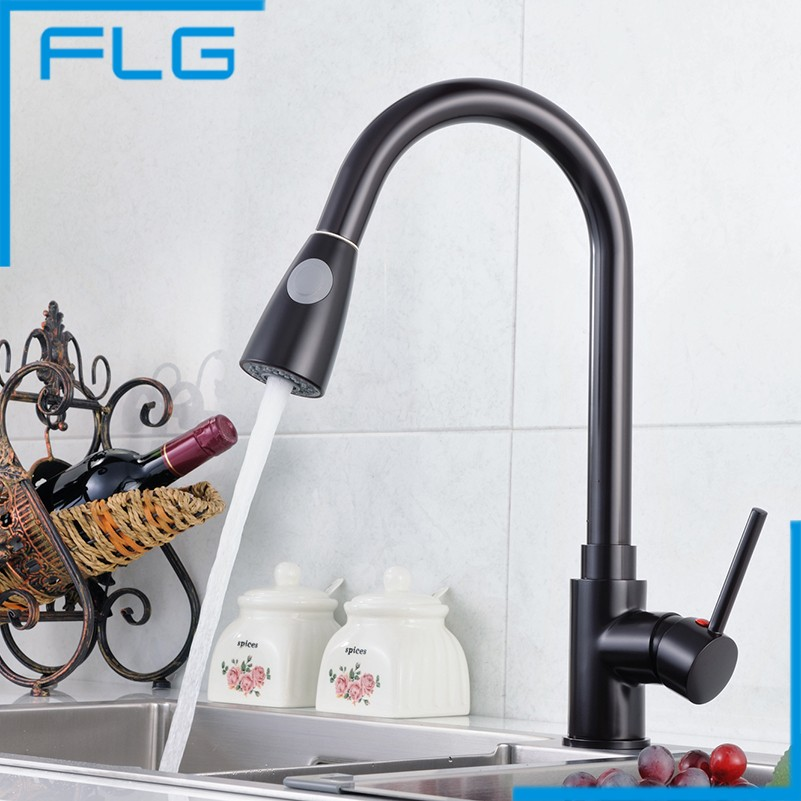 flg pull out kitchen faucet