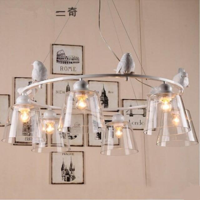 Europäische Led Kronleuchter Wohnzimmer Led Lampen Speise Pastoralen Vogel  Kronleuchter Led Lampen E27 Led Lustre
