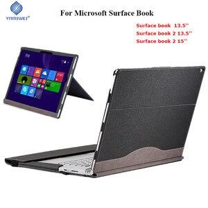Image 1 - Afneembare Cover Voor Microsoft Oppervlak Boek 2 13.5 Boek 2 15 inch Tablet Laptop Sleeve Stand Case Bescherm Voor Oppervlak boek 13.5