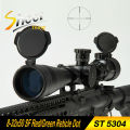 ST 5304 Riflescopes Sniper Telescopic Sight 8-32x50 SF Red Green Reticle Dot Hunting Shooting Rifle Scope With 20mm Rail Mount