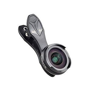 Apexel Pro światłowodowe obiektywy do aparatów w telefonach komórkowych zestaw 4K Hd 0.6X szeroki kąt + 10X makro 2 w 1 obiektyw dla Iphone xiaomi Samsung nie ma ciemną Circ