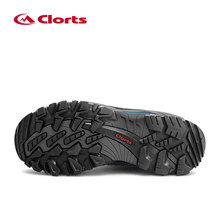 Professional Clorts Mountain Boots Men Waterproof Climbing Shoes Genuine Leather Hiking Shoes Outdoor Shoes HKM-823