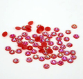 5mm Jelly Siam AB Color SS20 crystal Resin rhinestones flatback,Nail Art Rhinestones,30,000pcs/bag