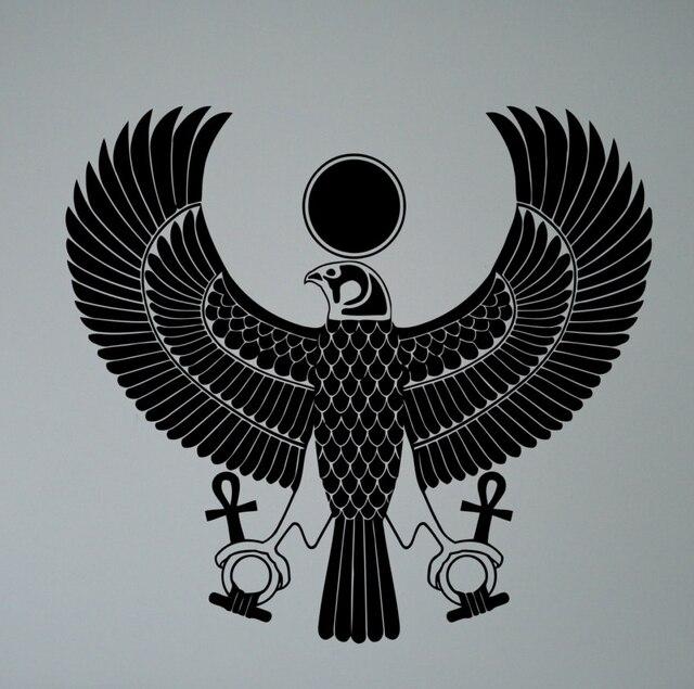a gyptischen gott ra wandaufkleber symbol a gypten vinyl aufkleber hause innen alten a gypten wand dekor