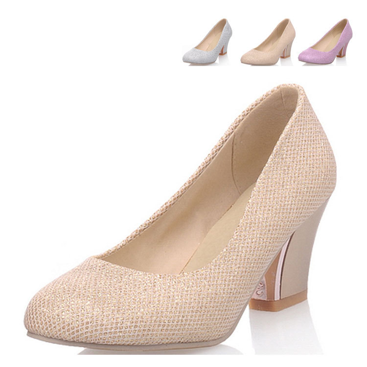 1 Inch Heels For Wedding: Fashion 2015 Heels 2 Inch Bridal Shoes,Size 4 Shoes Round