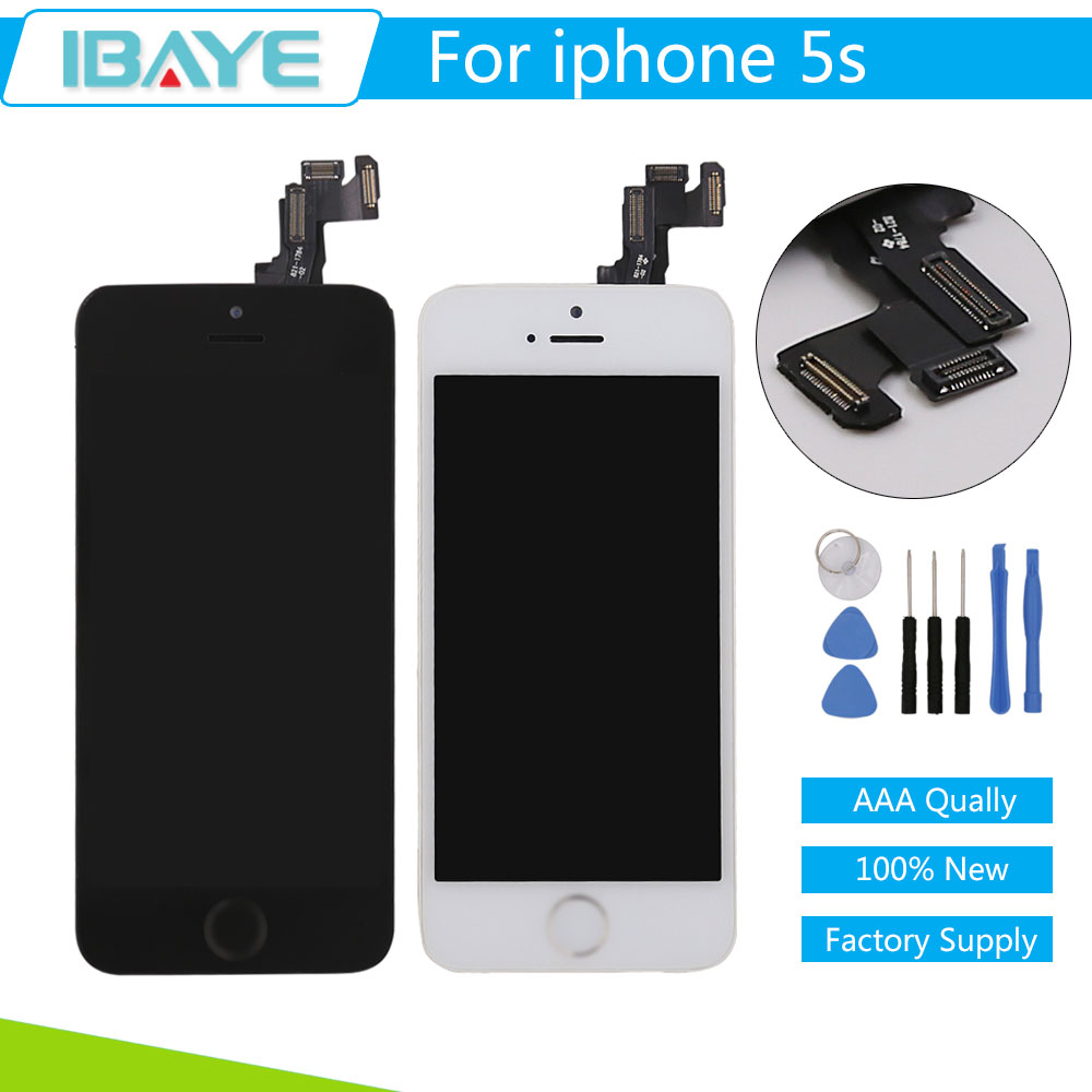 how to replace iphone 5s screen aliexpress buy black white for iphone 5s lcd display 19006