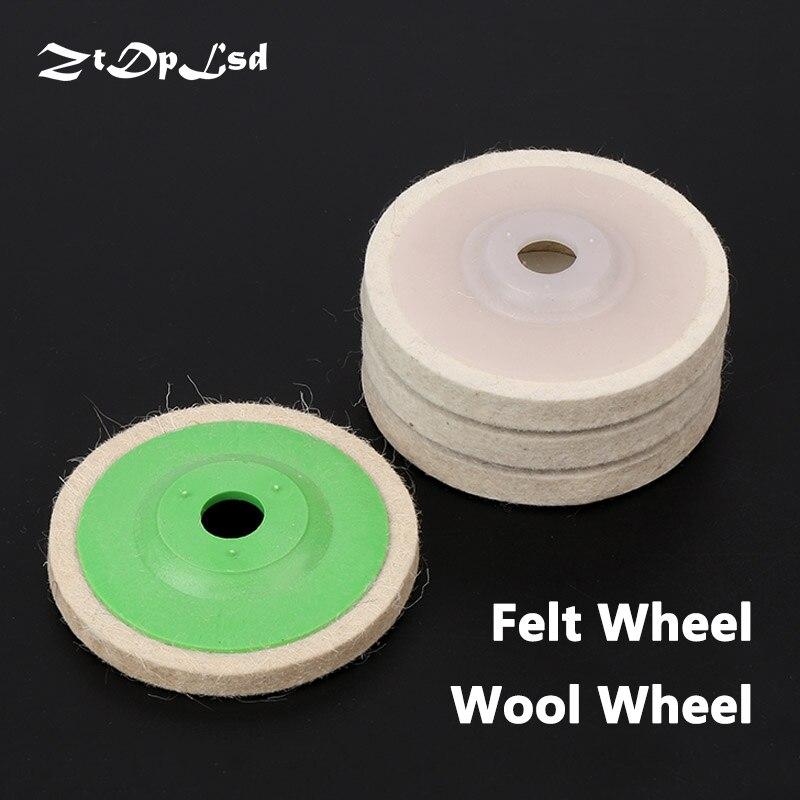 FAST SHIP 100mm Grinding Wheel Buffing Disc Pad Polishing Metal Ceramic Wood