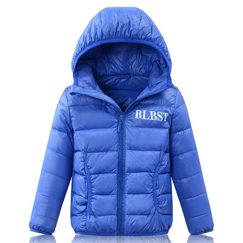 2-16Y Осінь Зима Марка Дитячі Куртки та - Дитячий одяг