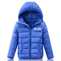 2-16Y Autumn Winter Brand Children Jackets and Coats Girls Boys Ultra Light Down Jacket Hooded Kids Coat Winter 2016 DQ112