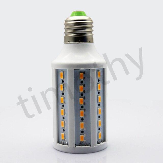 HOT SALE Free shipping 11W E27 SMD 5630 60 LED Warm White Energy Saving Corn Lamp Lights Bulbs AC220V 1pc #LE012