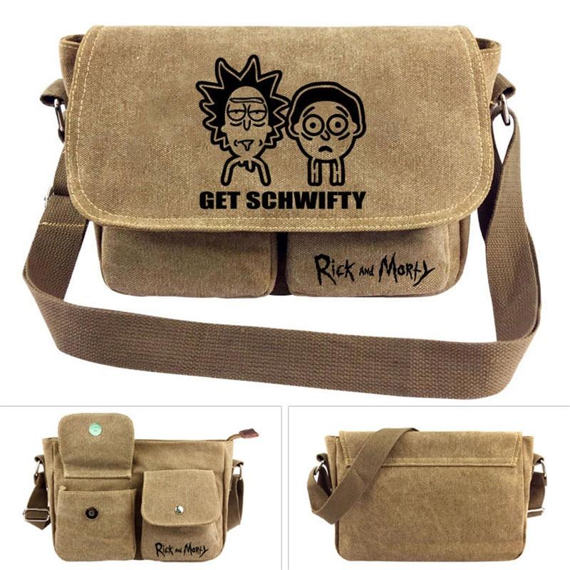 Rick and Morty font b Cross b font body font b Bag b font font b