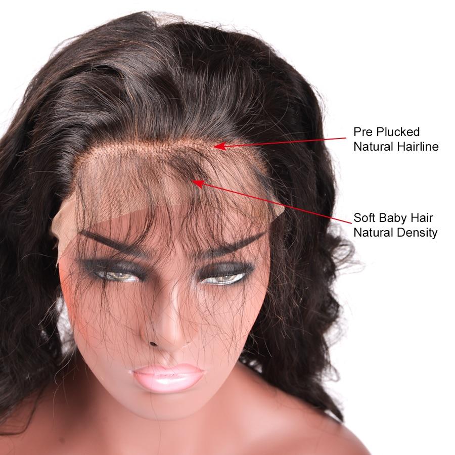Дивовижна дівчина бразильський - Людське волосся (чорне) - фото 5