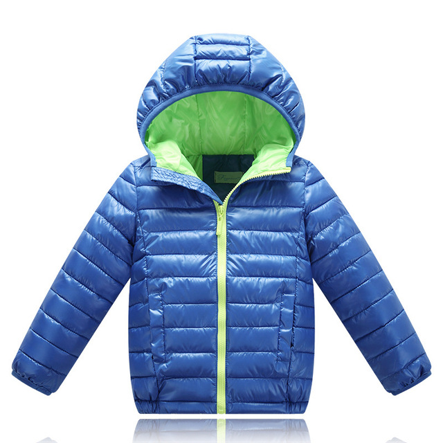 4-12 Year Hot Hooded Girls Boys Winter Coat Long Sleeve Boys Winter Jacket Windproof Children Fashion Outwear Kids Winter Jacket