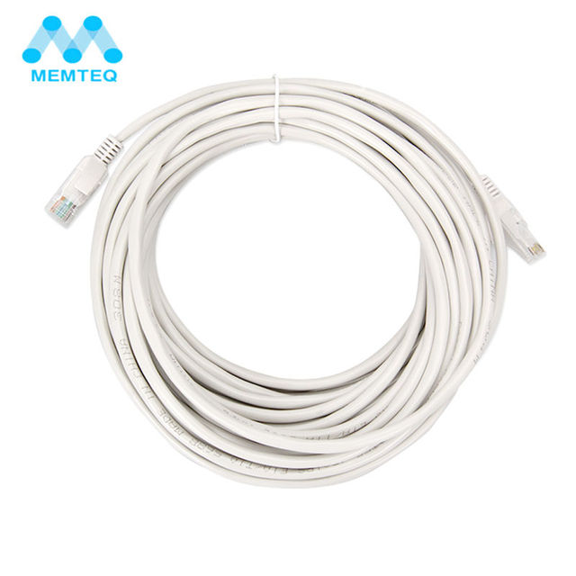 MEMTEQ Ethernet Cable 100FT 10m Cat5 Network Cable RJ45 Cat5e ...