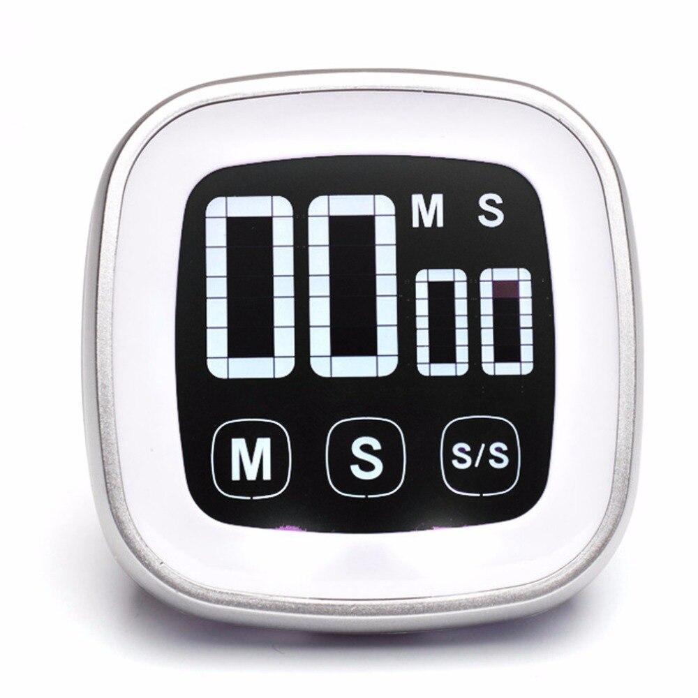 Digitale Küche Timer Laut Timer Multichannel Weiß Schönheit Spiele Küche Weiß Kochen Timer