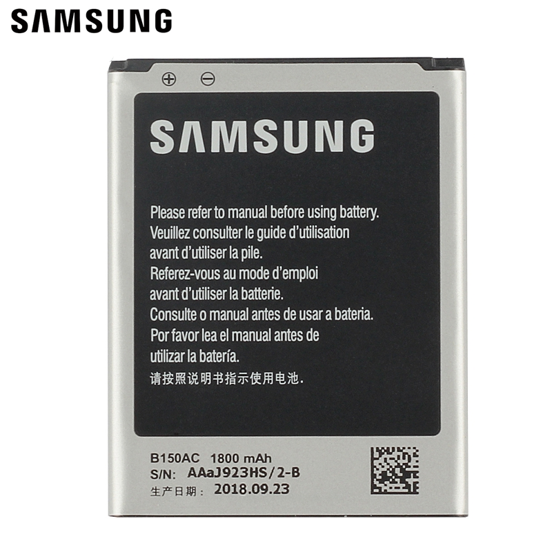 Samsung Original Replacement Battery B150AE For Samsung GALAXY Trend3 G3509 I8260 G3502 G3508 B150AC Authentic Battery 1800mAhSamsung Original Replacement Battery B150AE For Samsung GALAXY Trend3 G3509 I8260 G3502 G3508 B150AC Authentic Battery 1800mAh