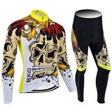 2017 nueva llegada bxio ropa moto de manga larga pro equipo de bicicleta jersey ciclismo jersey ciclismo ropa de hombre verano 074