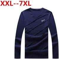 Plus Size Big Size 10XL 9XL 8XL 7XL 6XL 5XL 4XL New Autumn Long Sleeve T