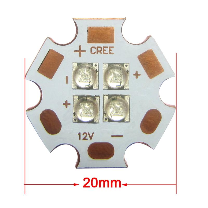 1 հատ հատ Original Cry 5w 4 / չորս չիպսեր XTE Blue - Լուսավորության պարագաներ - Լուսանկար 2