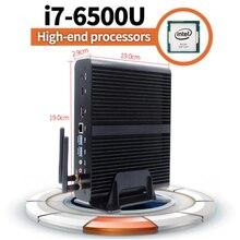 2016 Nueva 6Gen Skylake Mini PC Core i7 6600U 6500U Max 3.1 GHz Intel HD Graphics 520 Micro Ordenador HTPC Windows 10, Linux