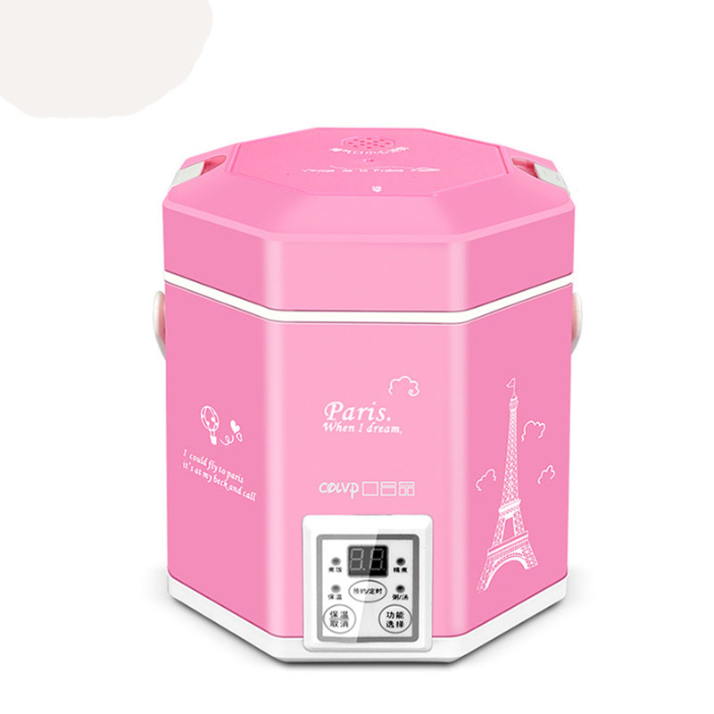 220V KDFB-1220B Rice Cooker Multifunctional 1.2L Rice Cooker Mini Student homeleader 7 in 1 multi use pressure cooker stainless instant pressure led pot digital electric multicooker slow rice soup fogao