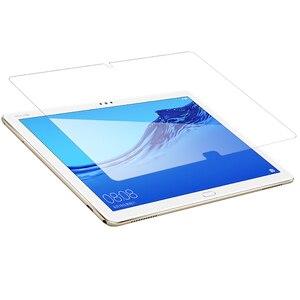 Image 3 - Protector de cristal templado para Huawei MediaPad M5 lite 10,1, Protector de pantalla de cristal para Huawei M5 Pro 10,8 M5 8,4