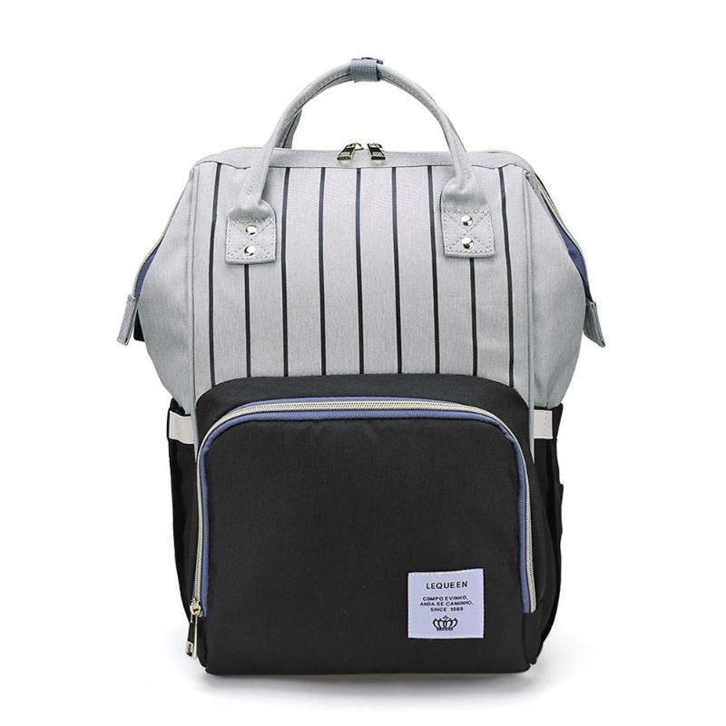 HTB1PB4eatfvK1RjSszhq6AcGFXaA LEQUEEN Fashion USB Mummy Maternity Diaper Bag Large Nursing Travel Backpack Designer Stroller Baby Bag Baby Care Nappy Backpack
