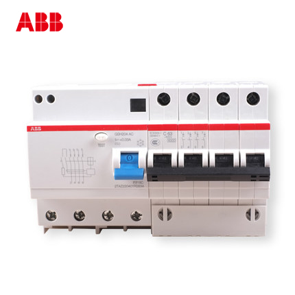 [ABB leakage breaker] ABB switch / leakage switch / leakage /GSH204-C63 софтстартер abb 1sfa896106r7000