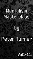 Mentalism Masterclass By Peter Turner,Magic Tricks